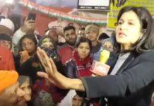 Anjana Om Kashyap in Shaheen Bagh