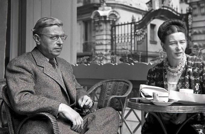Satre and Simone De Beauvoir
