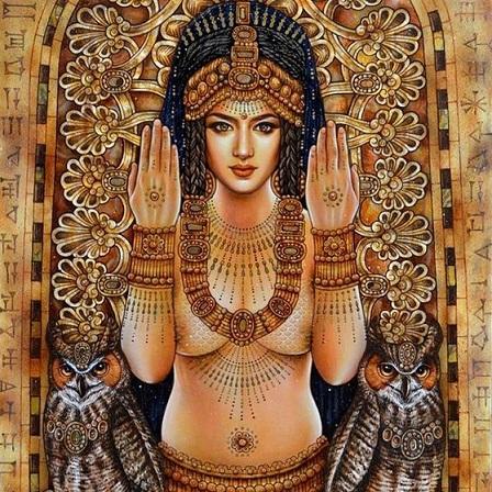एनहेदुअन्ना की एक पेंटिंग